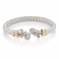 Alwand Vahan Diamond Scroll Bracelet - 21578