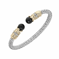 Alwand Vahan Black Onyx & Diamond Bracelet