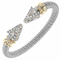 Alwand Vahan Bracelet Arrow Design, 6mm, .28ctw