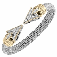 Alwand Vahan Diamond Arrow Bracelet, 8mm, .41ctw