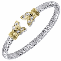 Alwand Vahan Diamond Butterfly Bracelet