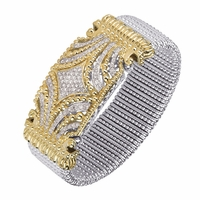 Alwand Vahan Wide Diamond Bracelet