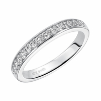 ArtCarved Diamond Wedding Band - Natalia