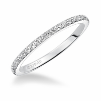 SYBIL - Artcarved Diamond Wedding Band