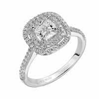 ArtCarved TARA Diamond Engagement Ring