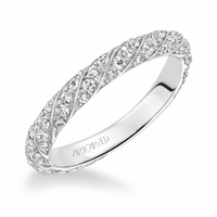 BAILEY ArtCarved Diamond Band