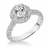 BAILEY ArtCarved Engagement Ring