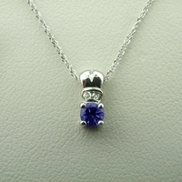 Beautiful Tanzanite Necklace