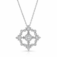 Beverley K Diamond Circle Necklace