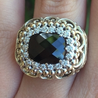 Black Onyx Ring by Alwand Vahan