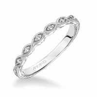CARALINE ArtCarved Diamond Band