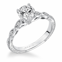 CARALINE ArtCarved Engagement Ring