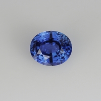 Ceylon Velvet Blue Sapphire 4.60ct Oval Unheated Natural