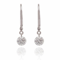 Dancing Diamond Earrings .25ctw
