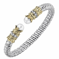 Diamond and Pearl Bracelet by Alwand Vahan