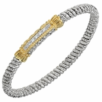 Diamond Bangle Bracelet by Alwand Vahan