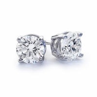 .96ctw Diamond Stud Earrings