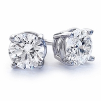Diamond Earrings -2.02ctw