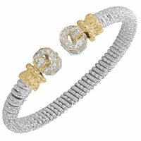 Diamond End Bracelet by Alwand Vahan