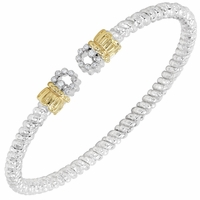 Diamond Ends Bracelet by Alwand Vahan
