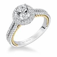 EMMELINE Artcarved Diamond Engagement Ring