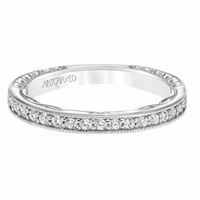 FERM ArtCarved Diamond Band