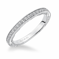 GENEVA ArtCarved Diamond Band