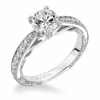 GENEVA ArtCarved Engagement Ring