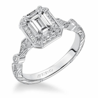 GEORGINA ArtCarved Engagement Ring
