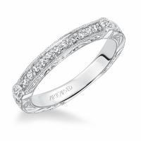 GWENDOLYN / MATILDA ArtCarved Diamond Band