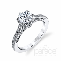 Hera Diamond Engagement Ring by Parade, Vintage Inspired