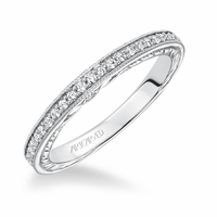 JEMIMA ArtCarved Diamond Band