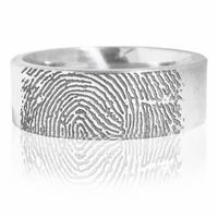 J.R. Yates Cobalt Fingerprint Ring