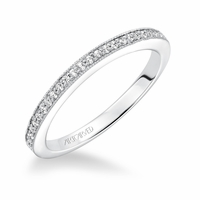 KAYEE ArtCarved Diamond Band