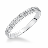 KRISTEN ArtCarved Diamond Band