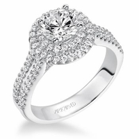 KRISTEN ArtCarved Engagement Ring