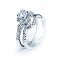 Ladies Diamond Wedding Set