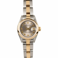 Ladies Rolex DateJust, 18K and Stainless Steel