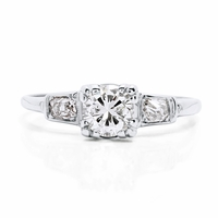 Art Deco Vintage Diamond Engagement Ring