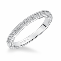 LAVINIA ArtCarved Diamond Band