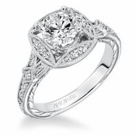 LORRAINE ArtCarved Engagement Ring