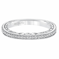 LORRAINE ArtCarved Diamond Band