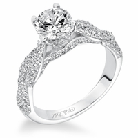 MACKENZIE ArtCarved Diamond Engagement Ring