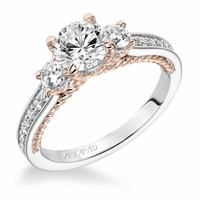 MARLOW ArtCarved Diamond Engagement Ring
