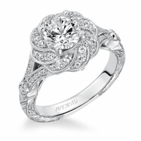 MATILDA ArtCarved Engagement Ring