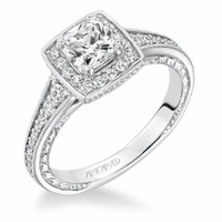 MILLICENT ArtCarved Engagement Ring