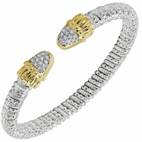 Open Diamond Bracelet by Alwand Vahan