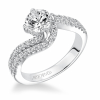 ORLA ArtCarved Diamond Engagement Ring