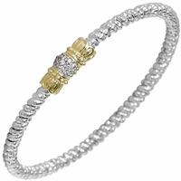 Pave Bangle Bracelet by Alwand Vahan
