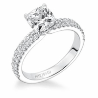 PIPPA ArtCarved Engagement Ring